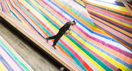 Design and making at the Redbull Creation, a 72 hour creative competition, during the 2015