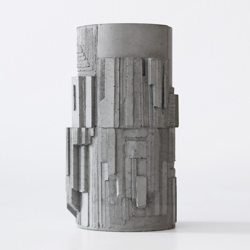 Brutalist Concrete Vase Cities Of Design Network