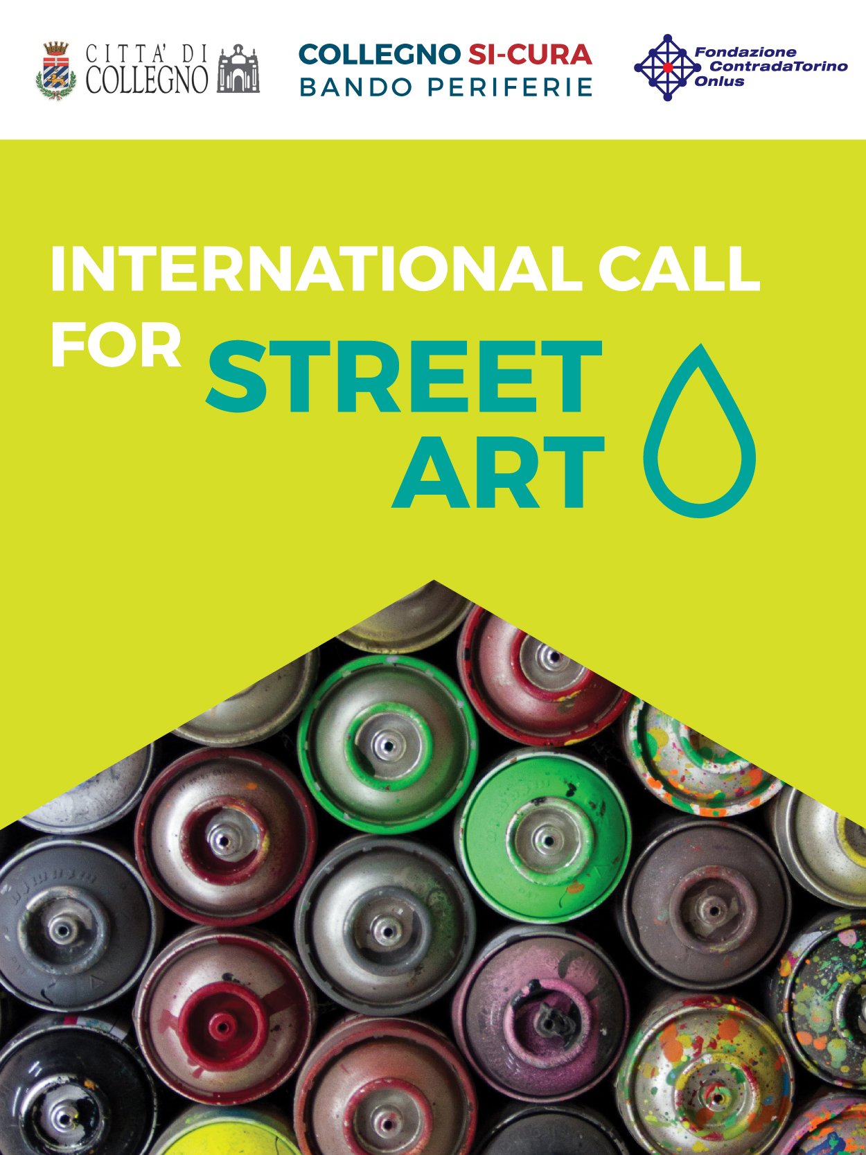 Call for Street Art in Collegno - Cities of Design Network